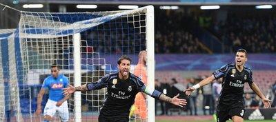 El Real Madrid cumple y se deshace del Napoli