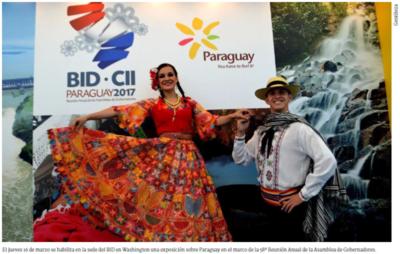 Paraguay se promocionará en la sede del BID en EE UU