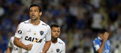 Fred aseguró el punto del Atlético Mineiro en su visita al Godoy Cruz