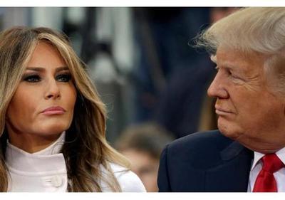 Melania Trump es más popular en EEUU que su marido