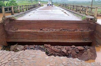 MOPC habilitó nuevamente puente en Tava´í