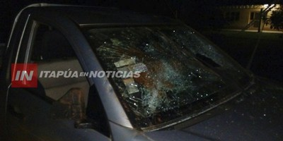 INVASORES ATACAN CAMIONETA DE SACERDOTE EN SAN BENITO E INTENTAN INCENDIAR TRACTOR