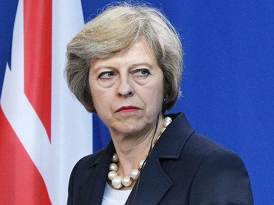 """May, la primera ministra del """"brexit"""""""