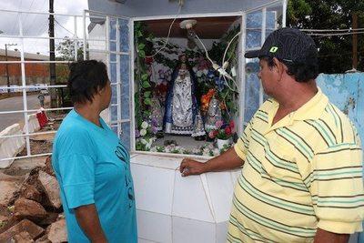 "La Virgencita que ""salva el puchero"""