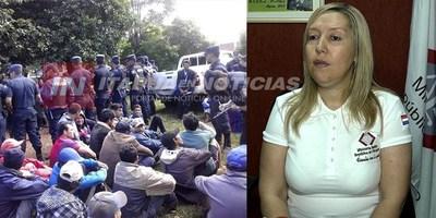 FISCAL RAQUEL BORDÓN EXPLICÓ IMPUTACIÓN A INVASORES
