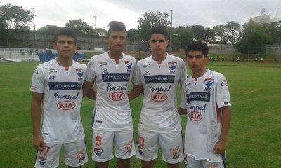 Nacional alcanza a Cerro Porteño en la Sub 16
