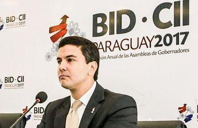 Paraguay coordinará por un año acciones en el Consejo de Gobernadores del BID