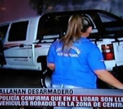 """Allanan """"desarmadero"""" en Fernando de la Mora"""