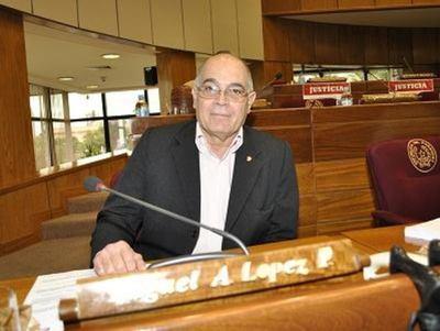 López Perito habla de quiebre institucional y golpe de Estado