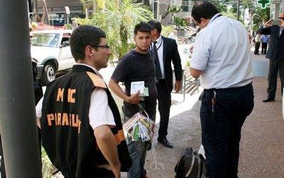 El MIC advierte que denunciará a vendedores informales ante fiscalía