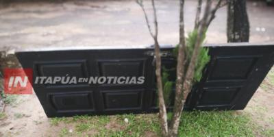 """CAE EL """"PUERTACHORRO"""" EN ENCARNACIÓN"""