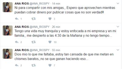 """Ana Ríos """"dispara"""" Contra De Un Diario"""