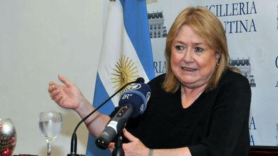 Malcorra afirma que negociaciones Mercosur-UE avanzan bien