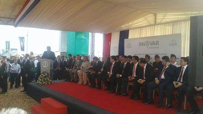 Feria Innovar contó con la presencia del presidente Cartes
