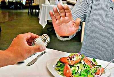 Consumir menos sal es ganar más salud