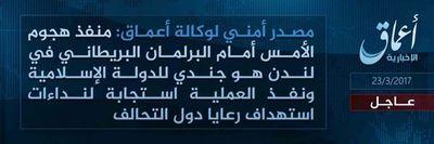 Estado Islámico se atribuye el atentado que sufrió ayer Londres