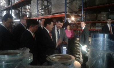CDE: Tuvieron que inaugurar fábrica con linternas