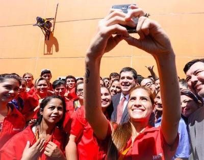 """""""Me entusiasma ver que el Paraguay crece"""""""