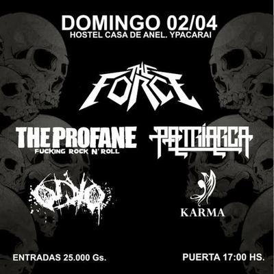 Las bandas Patriarca, The Force y The Profane inician el Mosh Tour 2017
