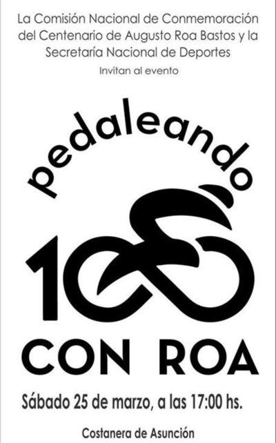 Asunción pedaleará con  Roa en la Costanera