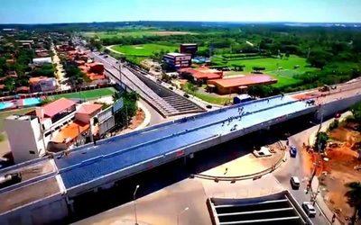 A menos de una semana para transitar por superviaducto