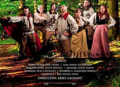 """""""El joven Robin Hood"""" se presenta en el Arlequín"""