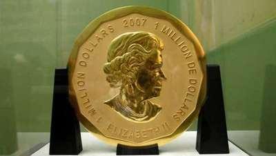 Moneda más grande del mundo fue robada de un museo en Alemania