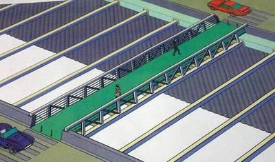 Superviaducto tendrá pasarelas peatonales para no videntes