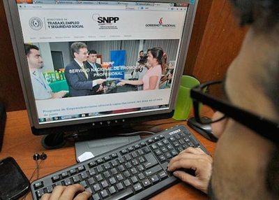 SNPP prepara 47 cursos online para el mes de abril