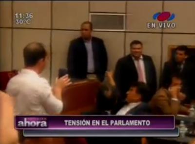 Extraños armados ingresaron al Senado, según legisladores