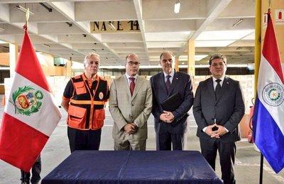 Perú agradece a Paraguay envío de ayuda humanitaria para damnificados