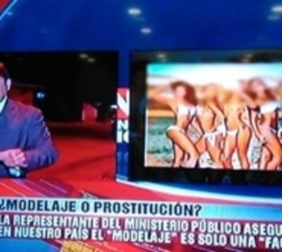 """""""En algunos casos el 'modelaje' es una fachada de la prostitución"""""""