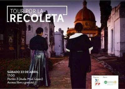Vuelven en abril los recorridos guiados por el Cementerio de la Recoleta