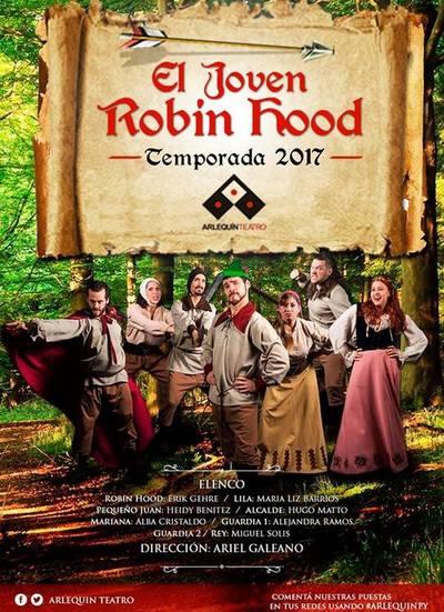 """Temporada 2017 de """"El joven Robin Hood"""" en el Arlequín"""