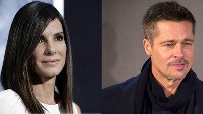 Brad Pitt y Sandra Bullock salen gracias a George Clooney