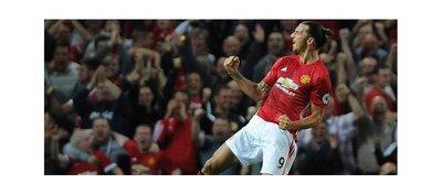Ibrahimovic rescata un punto para el Manchester United en el minuto 94