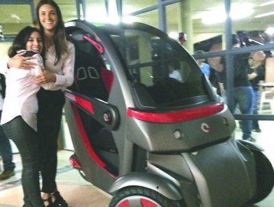 Plantean usar vehículo unipersonal para paliar tráfico en Asunción