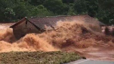 Pirapó: ya son más de 20 las familias inundadas