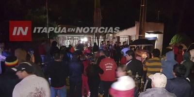BATALLA DE ESCRACHES EN ENCARNACIÓN