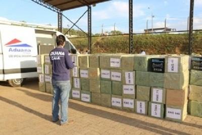 Electrónicos dudosos por valor de USD 5 millones cayeron en aduanas