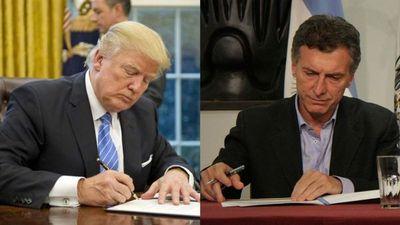 Argentina y EE.UU preparan el encuentro de Macri y Trump en Washington