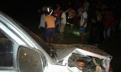 San Pedro: un muerto y varios heridos en choque