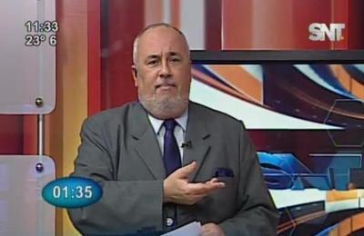 Monólogo de Javier Sosa Briganti: Desastre arbitral