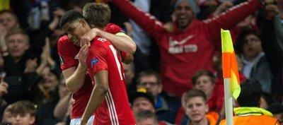 Manchester United, Ajax y Lyon sobreviven a semifinales