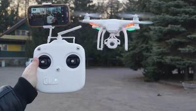 Regularán el uso de drones