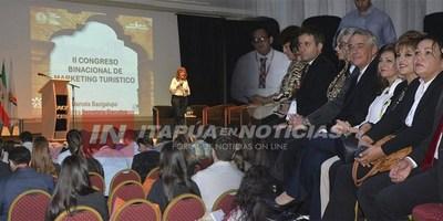 ARRANCÓ EL II CONGRESO BINACIONAL DE MARKETING Y TURISMO EN ENCARNACIÓN.