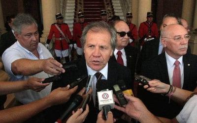 Almagro destacó que Cartes no busque su reelección