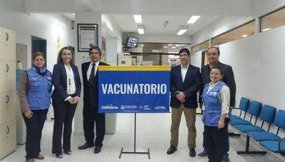 Habilitan nuevo vacunatorio en Asunción