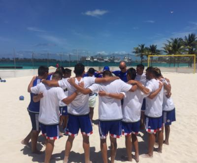 Realizan su primera práctica en Bahamas