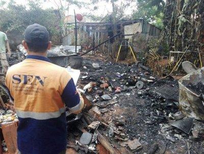 Villa Elisa: Familias afectadas por incendio reciben ayuda